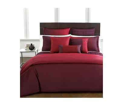 """Hotel Collection Modern Ombre Pomegranate 16""""x16"""" Decorative Pillow"""
