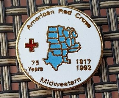 1992, Midwestern Operations Headquarters an American Red Cross pin