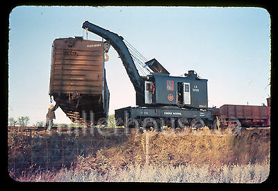 1959 CN Canadian National Railway Train Wreck Udney Ontario 35mm Private Slide 9