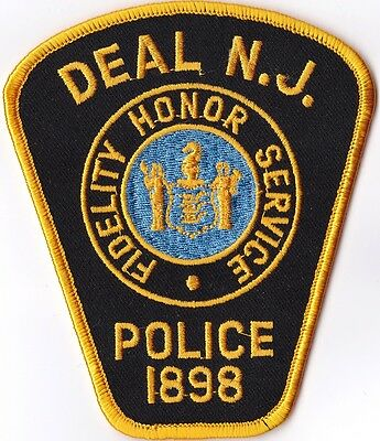 Deal Police New Jersey  Patch NJ NEW !!!
