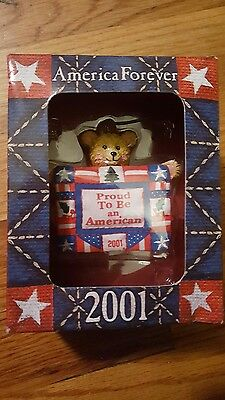 American Greetings Proud To Be An American 2001 Ornament