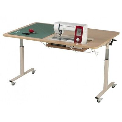 Horn Height Adjustable Sewing and Cutting Table RTA