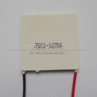 12V 60W TEC1-12706 Heatsink Thermoelectric Cooler Peltier Cooling Plate new M260