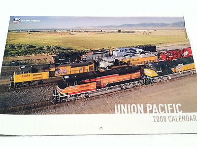 UP 2008 Calendar: Union Pacific Heritage Engine Collection Pictures WP SP Katy++