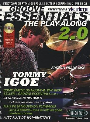 Tommy Igoe: Groove Essentials - The Play-Along 2.0 (Fr.... Drums Sheet Music, CD