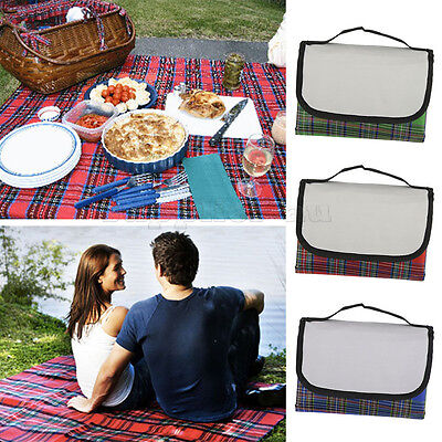 1.5x2m Extra Large Waterproof Picnic Blanket Rug Mat Outdoor Camping Beach New