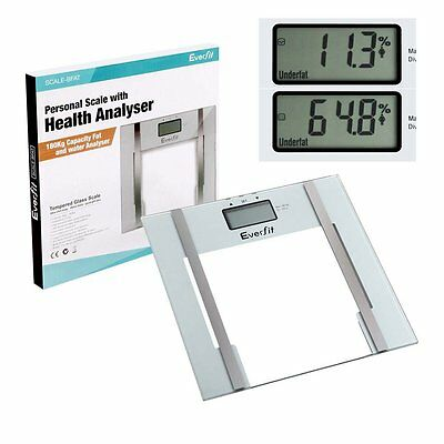 Digital Electronic Body Fat Scale Weight Percentage Analyzing Bath LCD Scale New