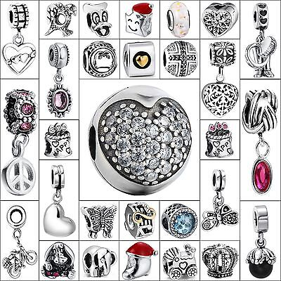 Hot Fashion Jewelry Silver Charms Bead Fit Brand 925 Sterling European Bracelets