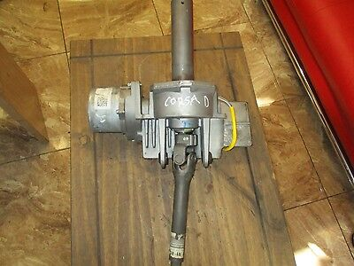 2012 Vauxhall Corsa D Electric Power Steering Column 13290397