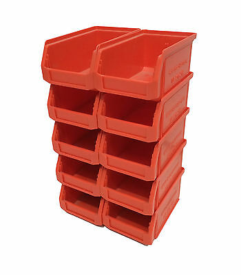 0.9 Litre SSI Schaefer Small Parts Bins Stacking Storage Boxes Containers