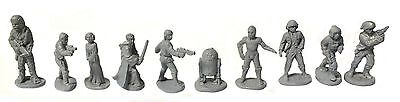 Star Wars - Heroes of the rebellion complete set (West End Game) - 25mm
