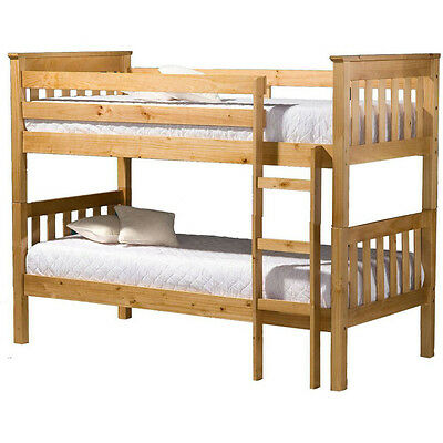 Seattle Bunk Bed Ivory, Antique Pine
