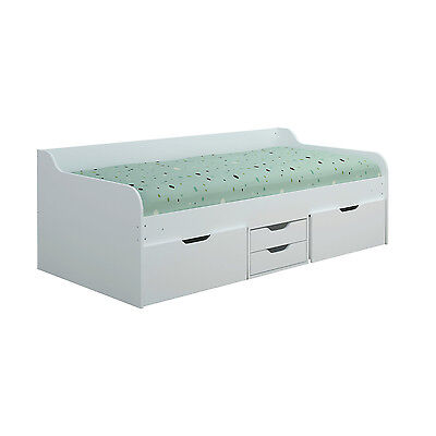 Dante Day Bed White, White/Blue
