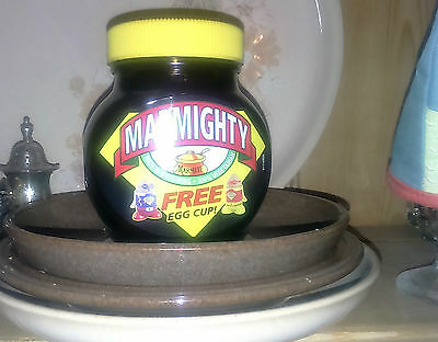 Marmite collectable 250g jar - MARMIGHTY Limited Edition 2016 new and sealed