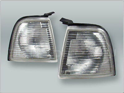 TYC Clear Corner Lights Parking Lamps PAIR fits 1988-1995 AUDI 80 90