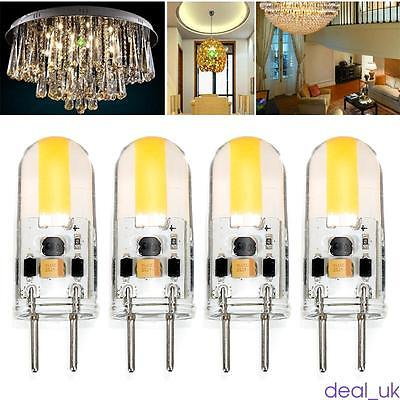 New GY6.35 Dimmable LED Light COB Bulb Silicone Lamp 12V 4W For Hotel/Home