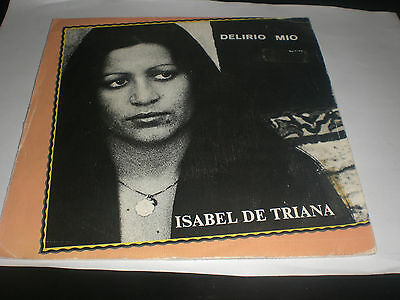 Single Isabel De Triana - Delirio Mio - Alba Spain 1979 Vg+