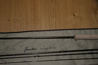 Flextec Streamtec Trout Fly Fishing Rod  10ft  AFTM #6 Hard Cordura Case