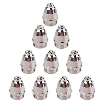 10PCS Plasma Cutting Cutter Torch Tip Nozzles Consumable fit AG-60 SG-55 WSD-60