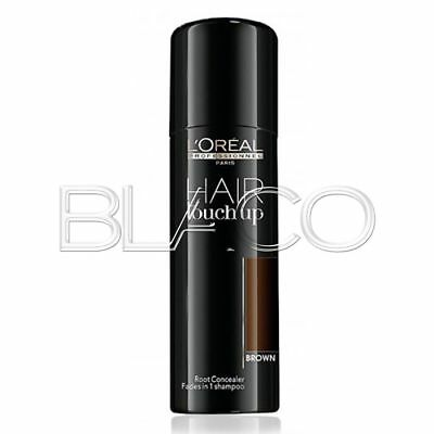 Loreal Hair Touch Up Ritocco Radici -Brown- Spray 75Ml Capelli