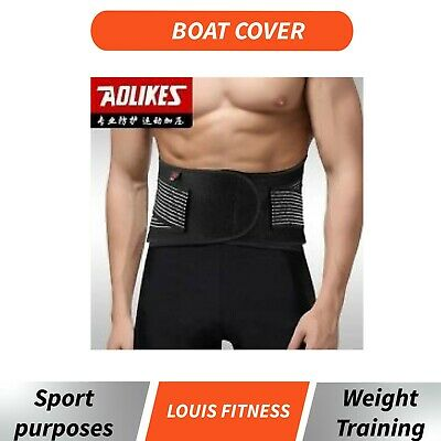 Adjustable Waist Spring Support Protection GYM Heavy Lifting Lumbar Double Pull