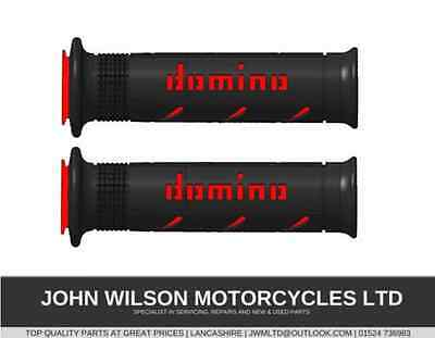 Honda CBR1000RR Fireblade 08-14 Red Rosso Domino Grips XM2 Quick Action Throttle