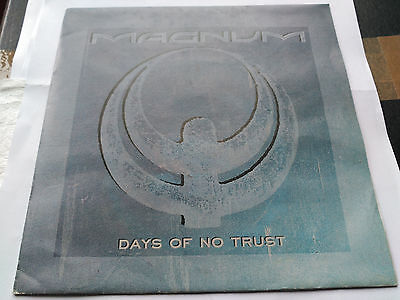 Single Magnum - Days Of No Trust - Polydor Spain 1988 Vg+