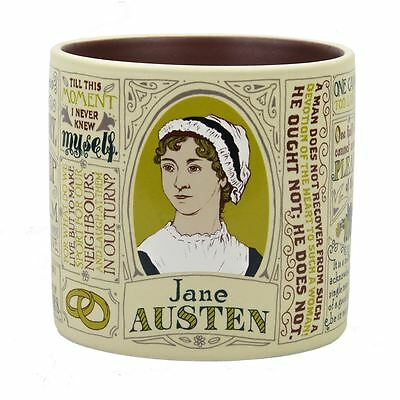 Jane Austen Literary Mug with Quotes from Novels 12oz Tea Coffee Cup