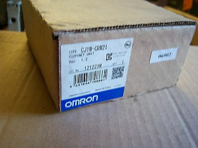 New In Box Omron Cj1W-Crm21 Componet Master Coms Module Free Uk Post