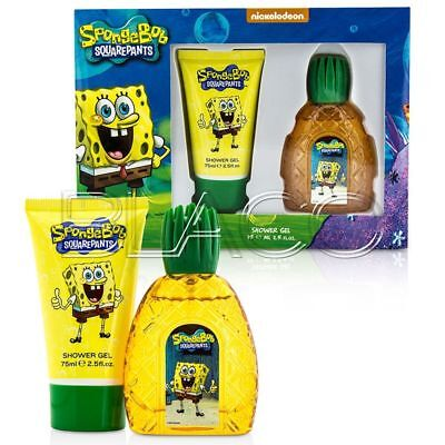 Spongebob Coffret Bambini Profumo 50Ml E Showergel 75Ml
