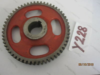 73B104 56Z 1-3/16'' Bore 56 Tooth Steel Spur Gear Replacement Part D333486