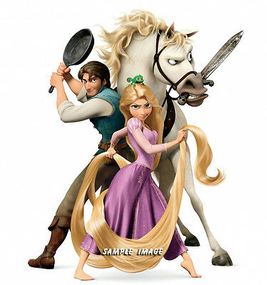 Tangled Rapunzel wall stickers (choice of 14 PRE-CUT images) Discounts available