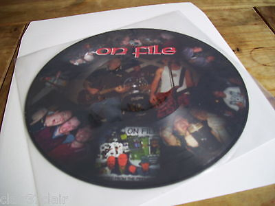ON FILE ejected from the premises lp picture disc new and in stock