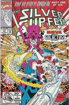 Silver Surfer (1987) #70 VF/NM Marvel Comics Herald Ordeal pt.1 Galactus