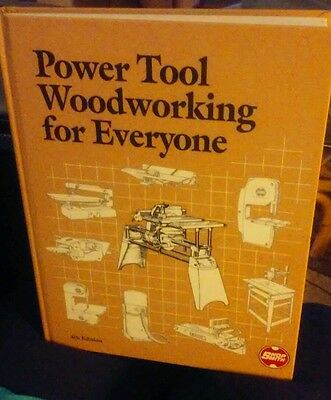 Shopsmith Power Tool Woodworking for Everyone book  Mark V 4th edition 1989 C