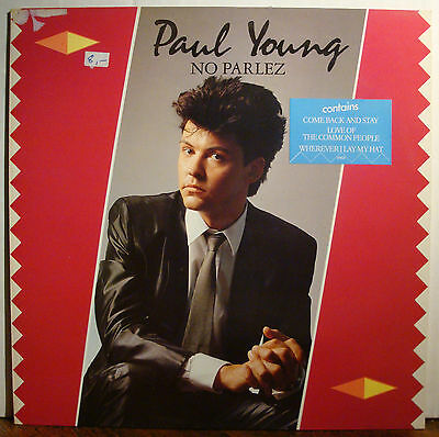 LP PAUL YOUNG - No Parlez  1983