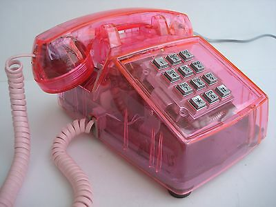 Western Electric 2500 Telephone  Clear Pink Collectors Edition