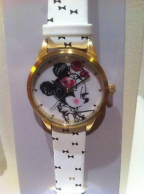 Disney Montre Minnie Disneyland Paris Exclusive Watch Minnie Mouse Parisienne