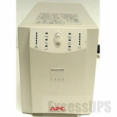 Apc Smart-Ups 1400Va Su1400Net Ups New Batteries - 1 Yr Warranty