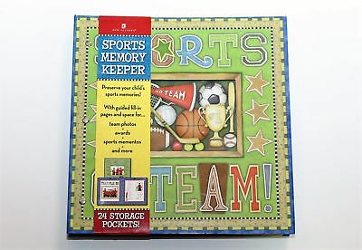 New Seasons School Years Sports Memory Scrap Book Album 24 Pocket 7691300