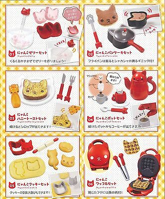 Epoch Nyanko Kitten Cat Kitchen # full set of 6 re-ment re ment