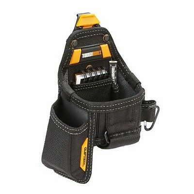 Toughbuilt TOU-CT-25X Tape Measure And Knife Pouch With Notebook and Pencil