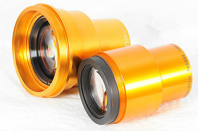 Lot of 2 Projection lenses Isco Ultra Star 65mm & Jinay     655
