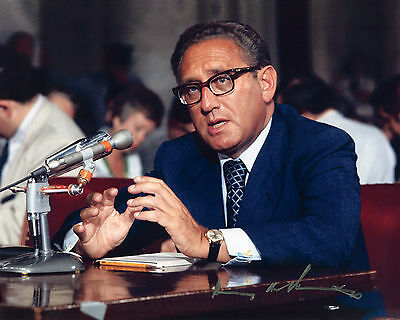 Henry Kissinger - 56th United States Secretary of State-Signed Autograph REPRINT