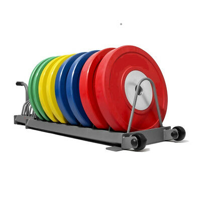 "Olympic Bumper Plate ""Toast Rack"", Portable Storage Stand for Bumper 2"" Weights"