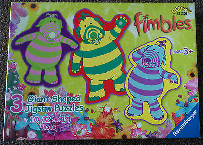 Fimbles Triple Puzzle by Ravensburger