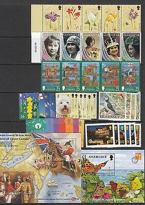 Guernsey Stamps sets & Miniature Sheets 1995-2001 Multi listing your choice