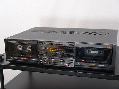 Pioneer CT-S99WR stereo cassette deck - made in Japan