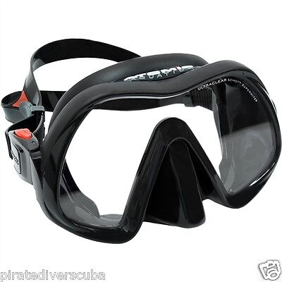 Atomic Aquatics Venom Frameless Dive Mask - BLACK