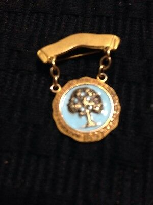 Vintage GP National Congress of Parents And Teachers 1897 PIN Enamel BROOCH~